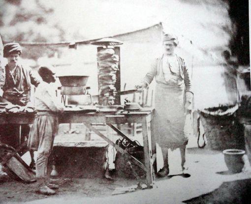 Anadolu'da Döner 1855 James Rodbertson